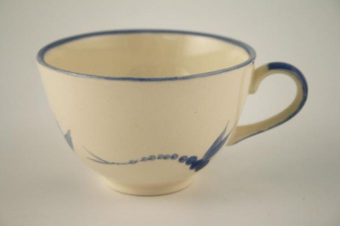 Poole Dragonfly - Blue Breakfast Cup 4 1/8 x 2 5/8""