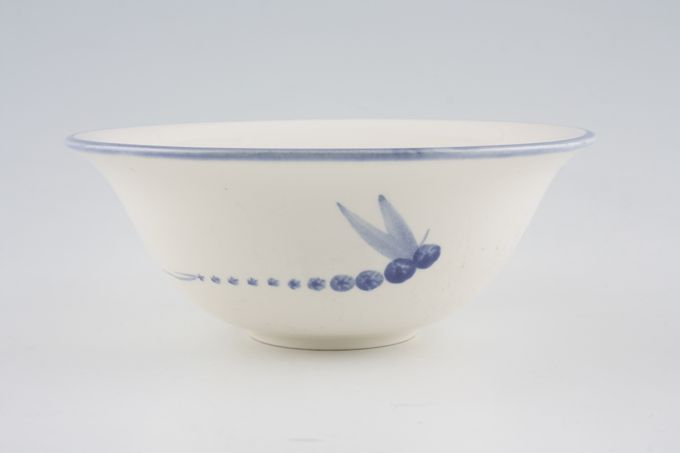 Poole Dragonfly - Blue Soup / Cereal Bowl No Dragonfly inside 6 5/8""