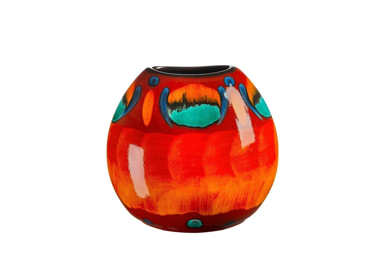 Poole Volcano Purse Vase 20cm thumb 1