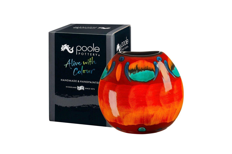 Poole Volcano Purse Vase 20cm thumb 2