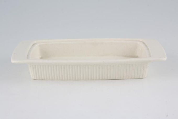 Poole Lakestone Butter Dish Base Only 7 5/8 x 4 1/8""