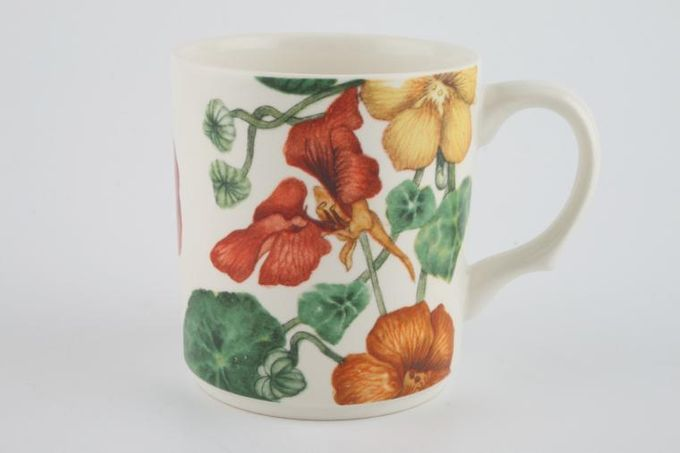 Poole Nasturtium Mug Straight sided 3 1/4 x 3 5/8""