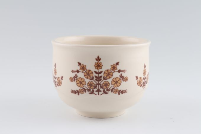 Poole Nut Tree Sugar Bowl - Open (Tea) 3 1/2""