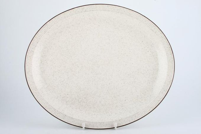 Poole Parkstone Oval Plate / Platter Narrow Rim 13 1/4""