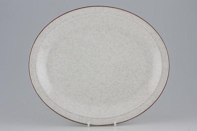 "Poole Parkstone Oval Plate / Platter Narrow Rim 11 5/8"""