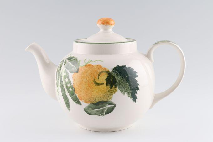 Poole Pea Flower Teapot 2 1/2pt