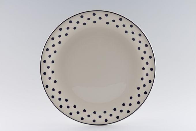 """Poole Polka Dinner Plate 10 3/4"""""""