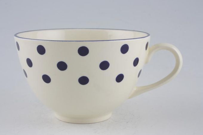 """Poole Polka Breakfast Cup 4 x 2 5/8"""""""