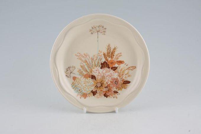 "Poole Summer Glory Tea / Side Plate 6 5/8"""