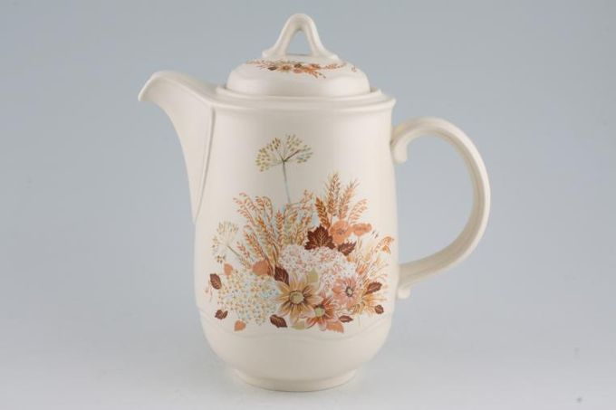 Poole Summer Glory Coffee Pot 2 1/4pt
