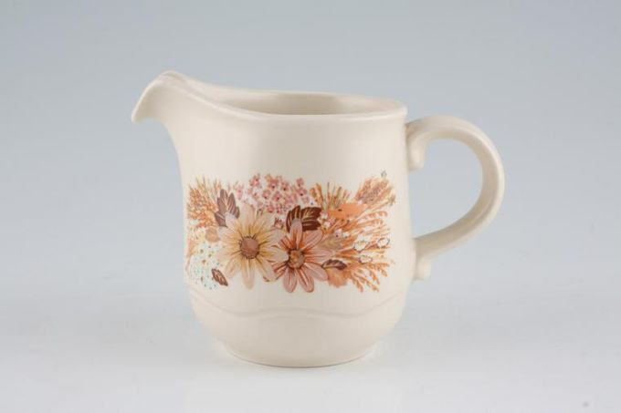 Poole Summer Glory Cream Jug 1/4pt