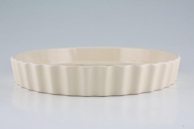 Poole Summer Glory Flan Dish Fluted 9 3/4""