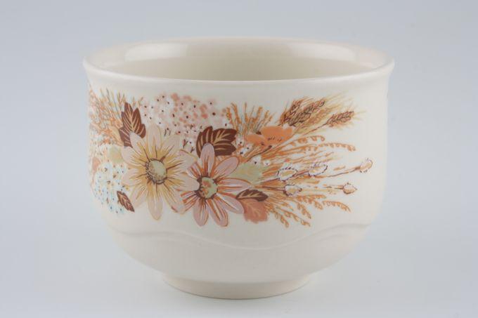 "Poole Summer Glory Sugar Bowl - Open (Tea) Gloss inside 3 1/2 x 2 1/2"""