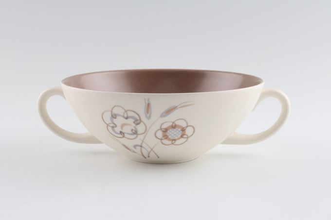 Poole Trudiana Soup Cup 2 handles 6""