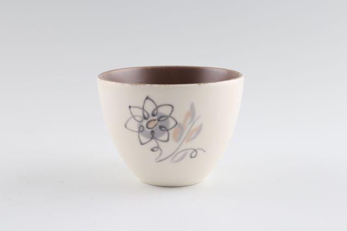 "Poole Trudiana Sugar Bowl - Open (Coffee) 2 3/4 x 2"""