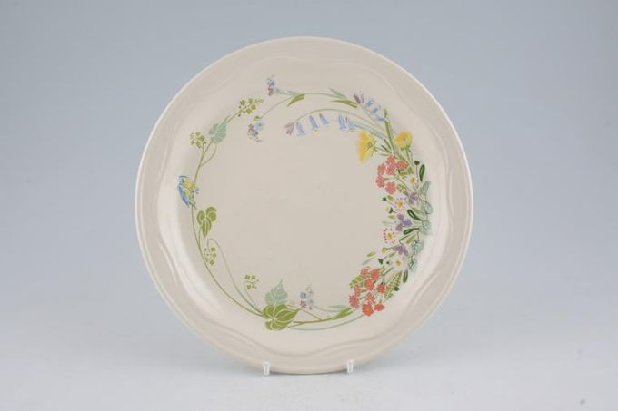 Poole Wild Garden Breakfast / Salad / Luncheon Plate 8 3/4""
