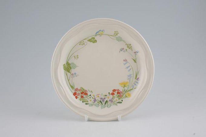 """Poole Wild Garden Tea / Side / Bread & Butter Plate 6 5/8"""""""
