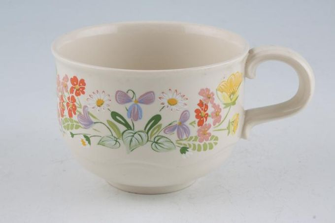 "Poole Wild Garden Teacup 3 1/2 x 2 1/2"""