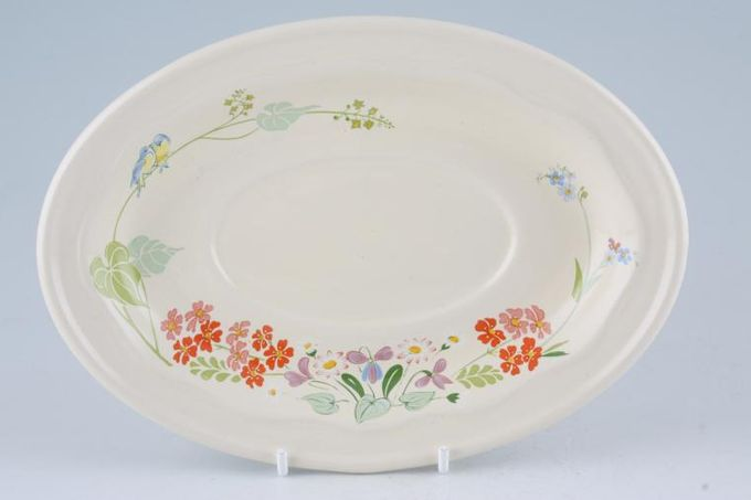 Poole Wild Garden Sauce Boat Stand 8 3/8""