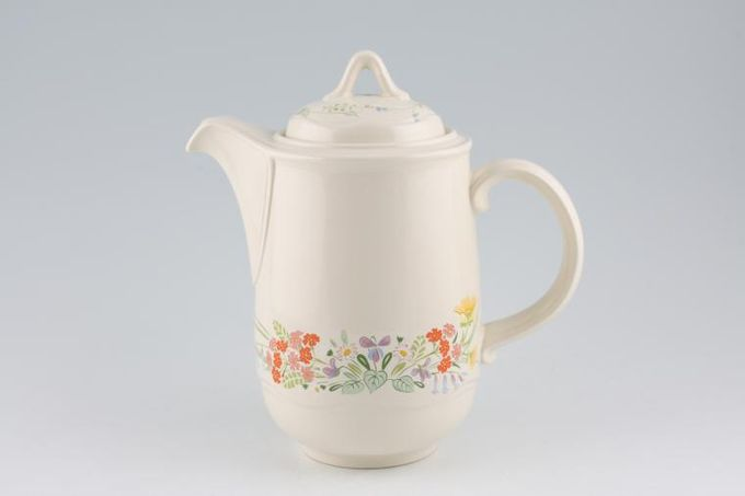 Poole Wild Garden Coffee Pot 2pt