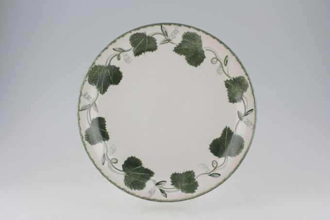 Poole Green Leaf Dinner Plate 10 1/2""