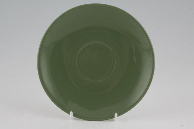 Poole New Forest Green Tea Saucer 5 7/8""
