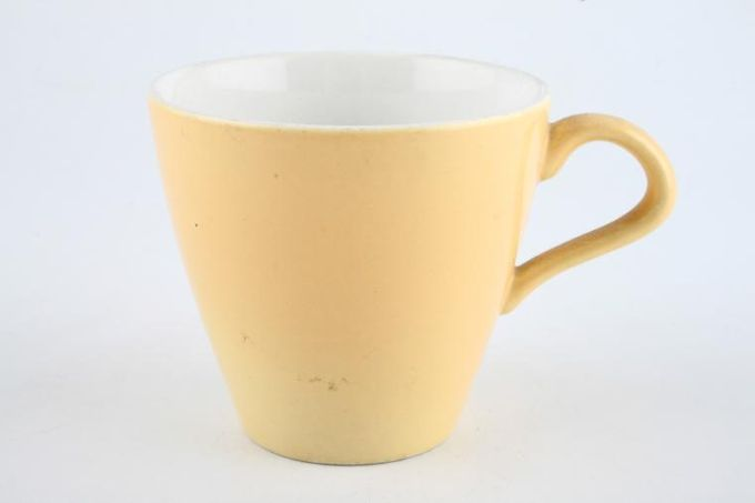 Poole Sweetcorn Teacup 3 1/8 x 3""