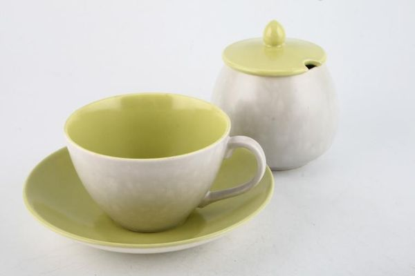 Poole Seagull and Lime Yellow