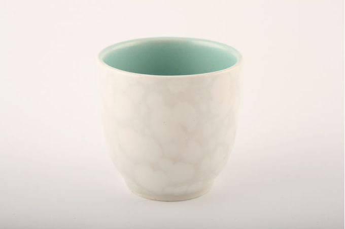 Poole Seagull and Ice Green - C57 Egg Cup 1 3/4 x 1 3/4""