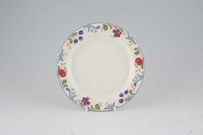 "Poole Cranborne Tea / Side / Bread & Butter Plate Rimmed 7"""