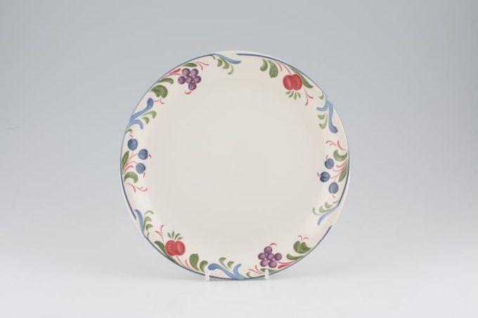 """Poole Cranborne Starter / Salad / Dessert Plate No Rim 8 1/2"""""""