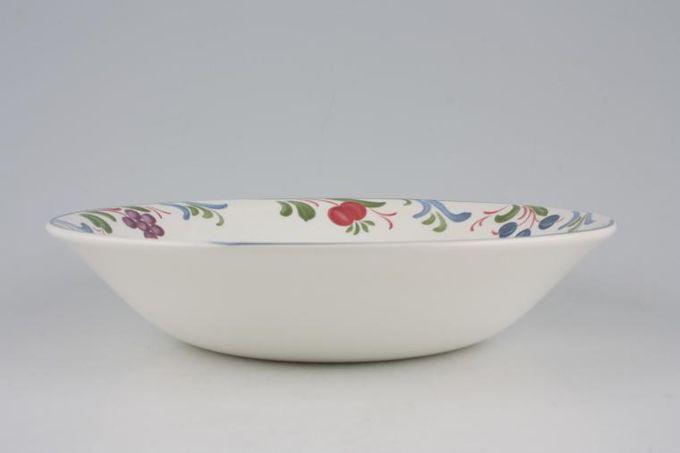 Poole Cranborne Oatmeal / Cereal / Soup No rim 7 5/8""