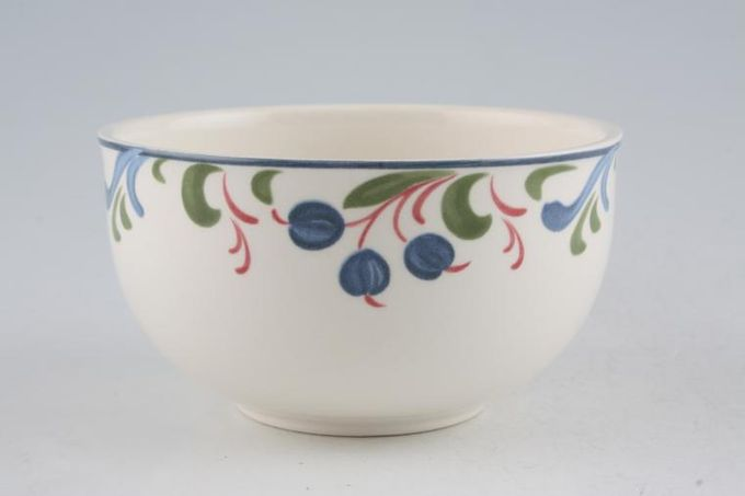 "Poole Cranborne Sugar Bowl - Open (Tea) 4"""