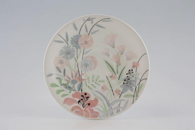 """Poole Hedgerow Flowers Tea Saucer 6"""""""