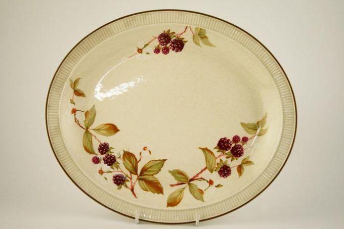 "Poole Bramble Oval Plate / Platter 11 5/8"""