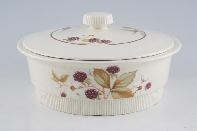 Poole Bramble Vegetable Tureen with Lid