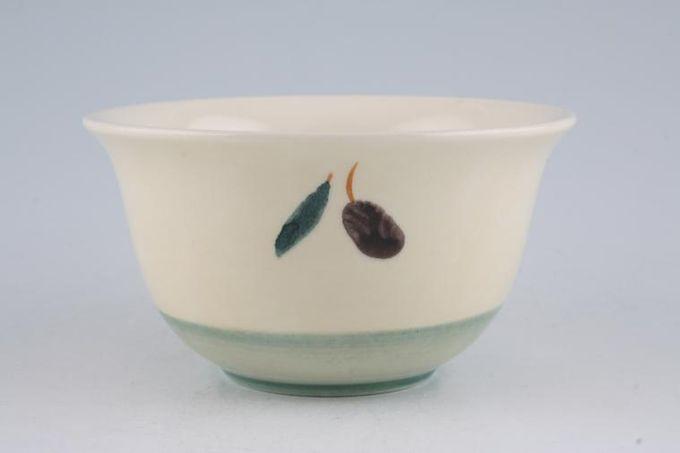 "Poole Fresco - Green Rice Bowl Pattern outside 4 7/8"""