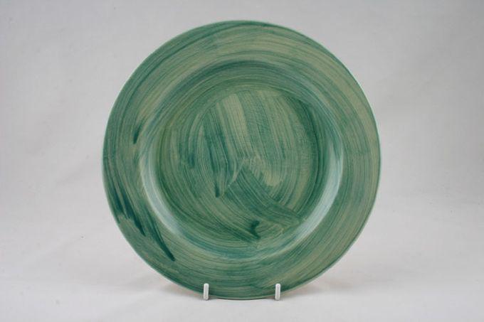 "Poole Fresco - Green Breakfast / Salad / Luncheon Plate Wash Green 9"""