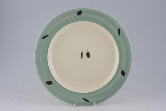 "Poole Fresco - Green Dinner Plate 10 1/2"""
