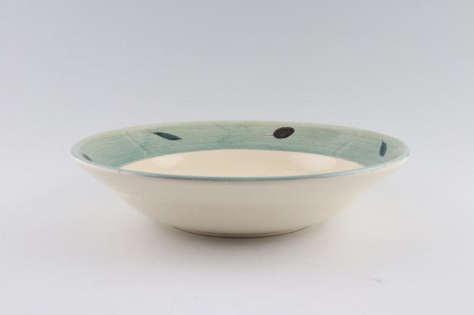 """Poole Fresco - Green Pasta Bowl 9 1/8"""""""