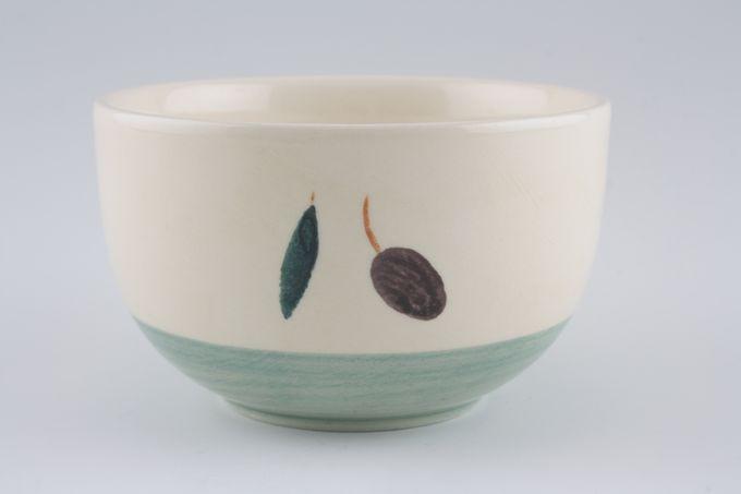 "Poole Fresco - Green Sugar Bowl - Open (Tea) 4"""