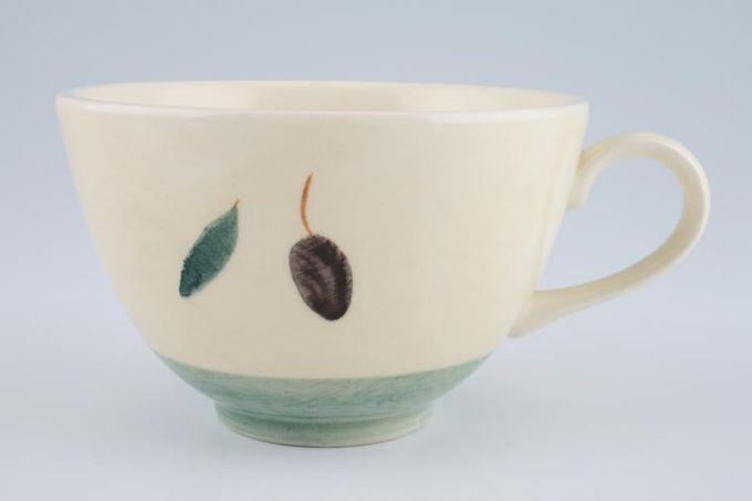 """Poole Fresco - Green Breakfast Cup 4 1/4 x 2 5/8"""""""