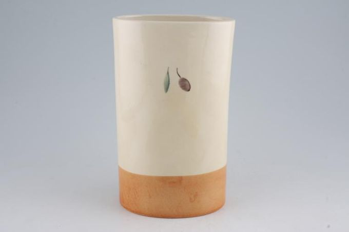 "Poole Fresco - Terracotta Utensil Jar 5 1/2 x 9"""