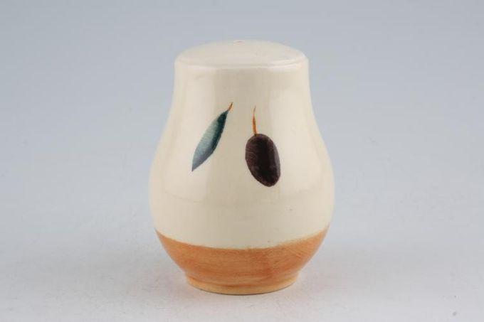 "Poole Fresco - Terracotta Salt Pot 1 hole 3 1/4"""