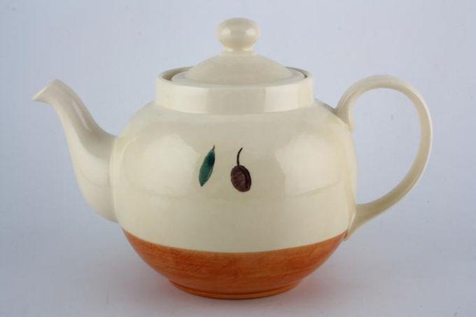 Poole Fresco - Terracotta Teapot 2pt