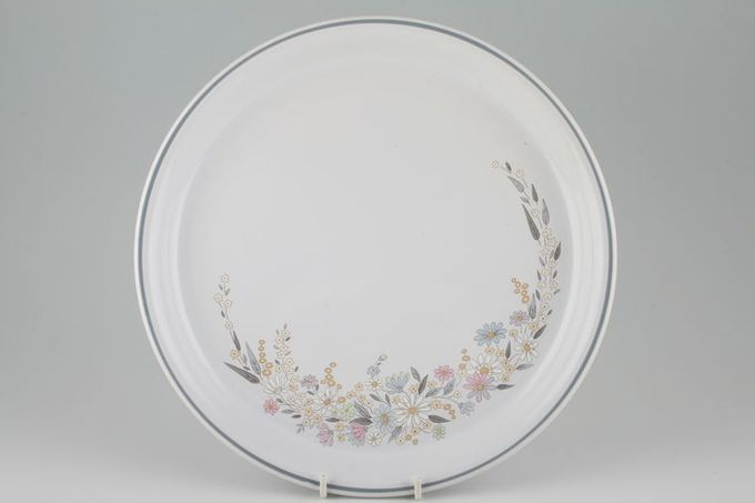 Poole Fragrance Dinner Plate 10 1/8""