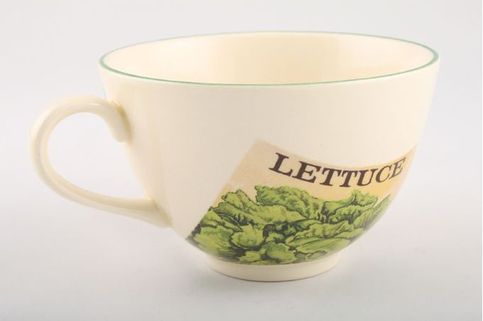 Poole Seed Packets Teacup 4 1/4 x 2 3/4""
