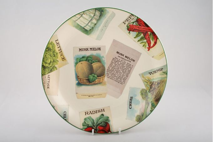 Poole Seed Packets Dinner Plate Musk Melon 10 3/4""