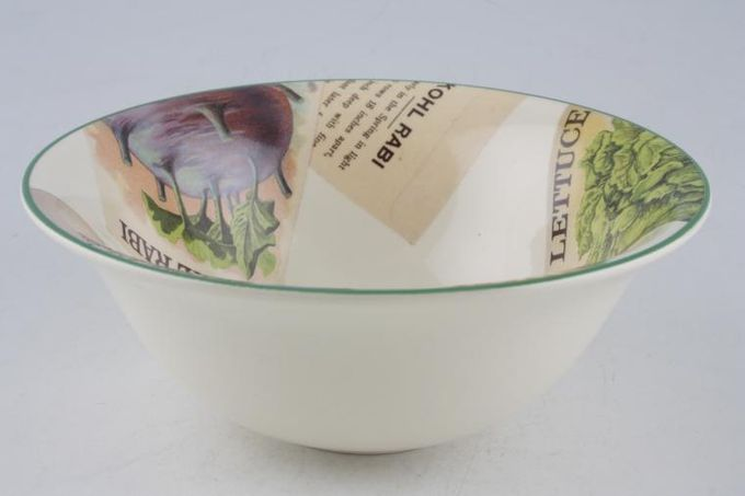 Poole Seed Packets Soup / Cereal Bowl 6 1/2""