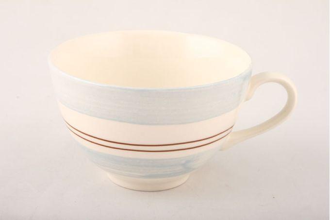 """Poole Freehand Breakfast Cup Wide Pattern 4 1/8 x 2 5/8"""""""